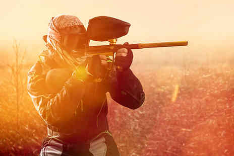 Allout Paintballing - Paint Balling Day - Save 86%