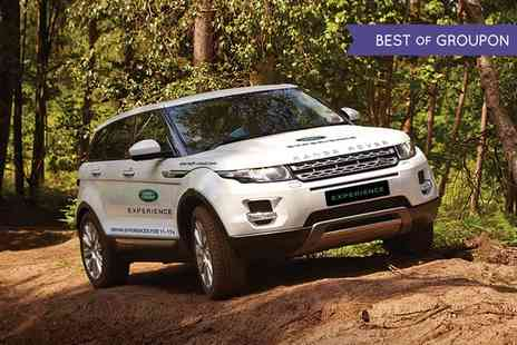 Land Rover Start Off Road - Up to 90 Minute Junior Range Rover Evoque 4x4 Off Road Driving Experience - Save 0%