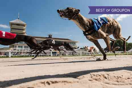 Towcester Racecourse - Greyhound Racing with Food, Drink, Programme and £2 Bet for Up to 10 People  - Save 58%