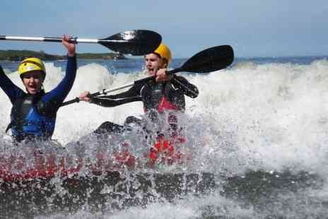 Adventure Northumberland - Kayaking or Coasteering Experience for One - Save 53%