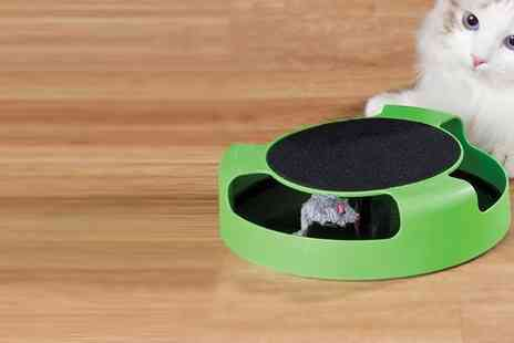 Groupon Goods Global GmbH - Catch the Mouse Moving Play Toy for Cats - Save 0%