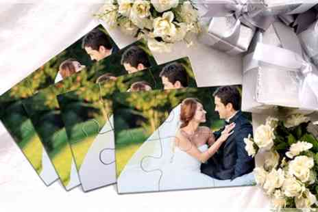 Regalos Personalses - 50 or 100 Personalised Photo Puzzles - Save 88%