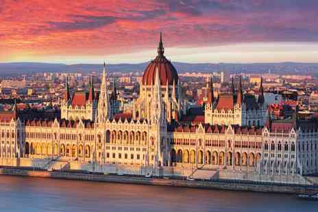 Vibrant Vienna & Budapest - Four or Six nights Stay in two 4 Star hotels, including daily breakfast, train ticket from Vienna to Budapest - Save 0%