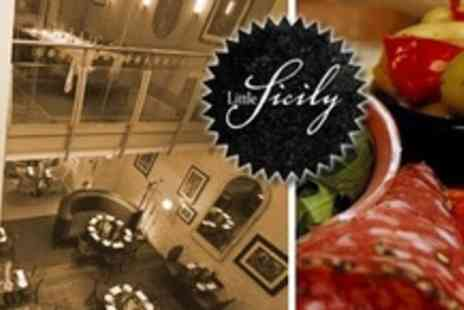 Little Sicily - Two Course Meal For Four With Prosecco - Save 67%