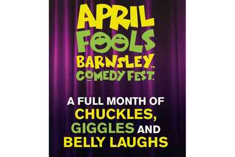 The Civicy - April Fools Barnsley Comedy Festival One Entry Ticket On 8 to 29 April - Save 0%