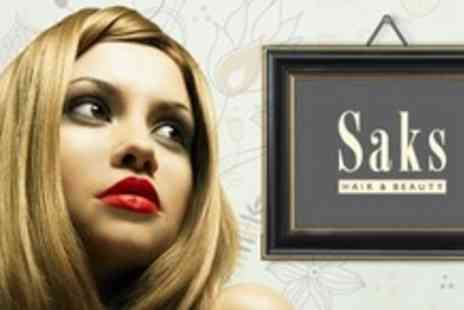 Saks Hair and Beauty - Full Head of Highlights and Conditioning Treatment With Principal Stylist - Save 70%