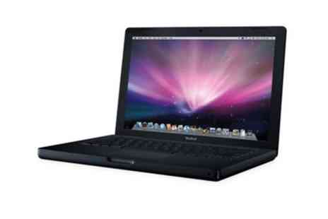 Titanium Computers - Refurbished Black Apple MacBook A1181, Core 2 Duo, 2.0GHz, 2GB RAM, 80GB HDD Laptop With Free Delivery - Save 0%