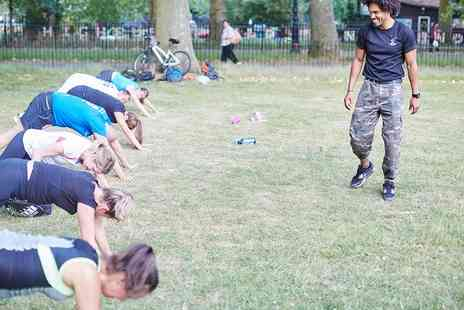 Army Bootcamp Fitness - Five Boot Camp Sessions for One or Two - Save 83%
