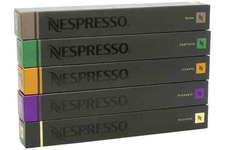Groupon Goods Global GmbH - 50 Nespresso Capsules Mixed Variety Starter Pack  - Save 0%