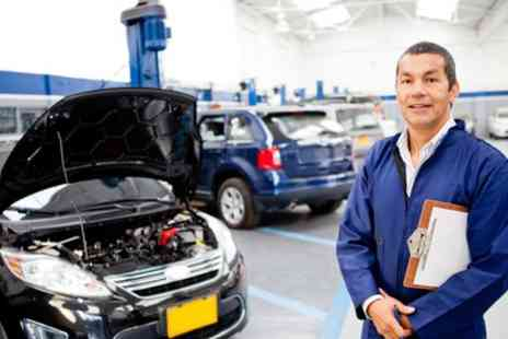 Amoti Service Centre - 52 Point Car Check with Oil and Oil Filter Change - Save 68%
