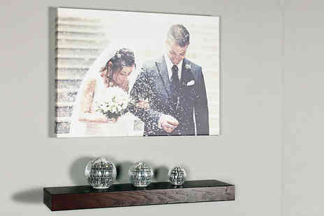 Your Perfect Canvas - A2 personalised canvas - Save 80%