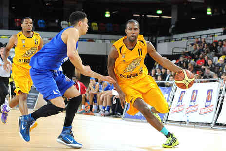London Lions - 45 for a premium level basketball ticket to see London Lions in a choice of four games - Save 53%