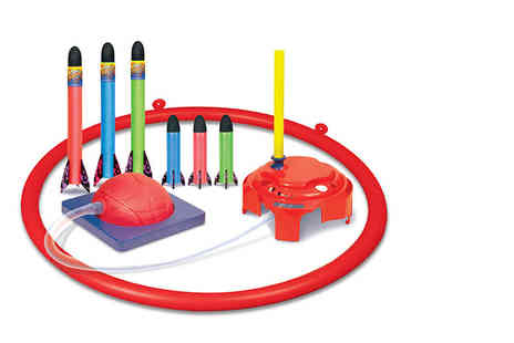Great Gizmos - Geospace Jump Rocket deluxe set  - Save 52%