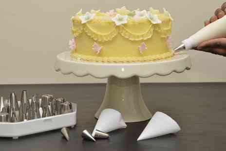 Cakes and Sugarcraft Supplies - Buttercream Piping Class for One or Two - Save 66%