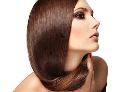 Textures Hair Makeup & Beauty - Brazilian Keratin Treatment with Optional Cut - Save 61%