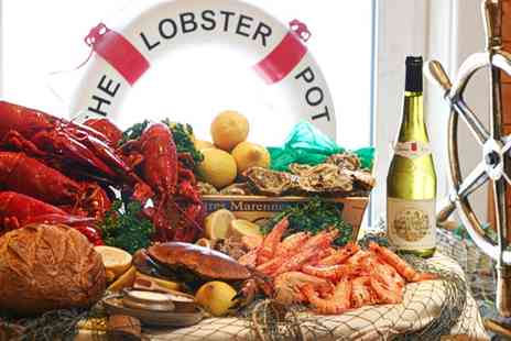 The Lobster Pot Restaurant - Eight Course Surprise Menu with Lobster and Champagne for One or Two  - Save 25%