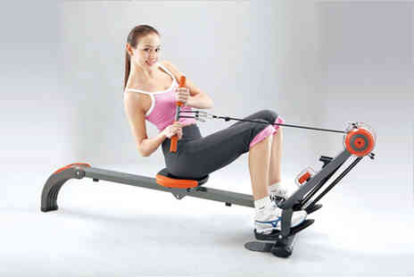 Games & Fitness - A body sculpture ace gym and rower - Save 52%