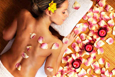 Perfect U - Luscious pamper package including a wash and blow dry, mini manicure or pedicure and a massage  - Save 77%