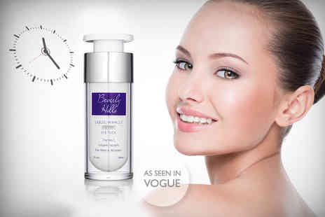 Look Good Feel Fabulous - 30ml bottle of Beverly Hills Instant Facelift & Eye Tuck cream - Save 81%