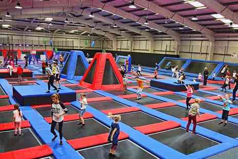 Energi Leisure Parks - One hour trampolining session for one  - Save 53%