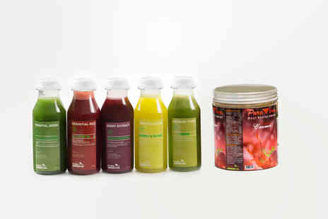 Pure Viva Cleanse - Three day juice cleanse or five days or seven days - Save 40%
