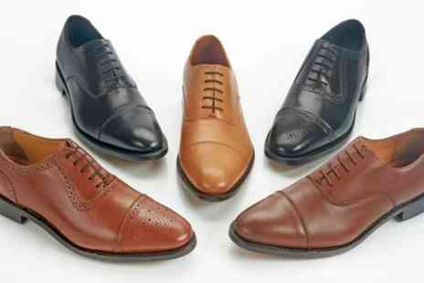 samuel windsor uk - Samuel Windsor Handmade Italian Leather Shoes One or Two Pairs - Save 70%