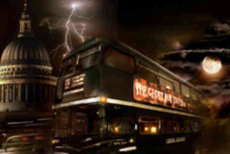 The Ghost Bus Tours - 2 Tickets for the 75 minute London Ghost Bus Tour to see some of Londons scariest sites - Save 50%