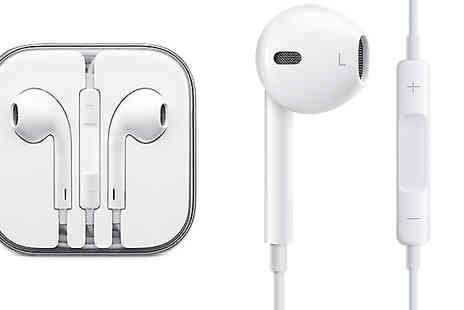 Studio Electronics - Official Apple EarPods with Remote and Mic - Save 68%