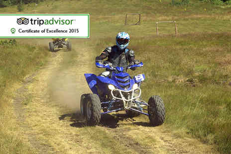 Off Limits - 45 minute quad biking or Segway session for two  - Save 55%