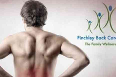 Finchley Back Care Centre - Chiropractic Consultation, Examination and Four Treatments - Save 81%