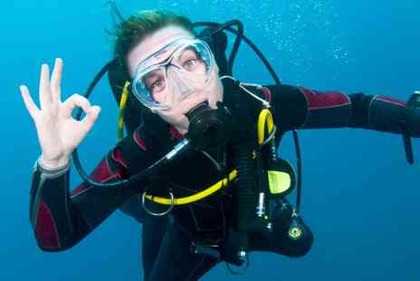 DiveMania Scuba - PADI Discover Scuba Diving Experience for One or Two - Save 48%