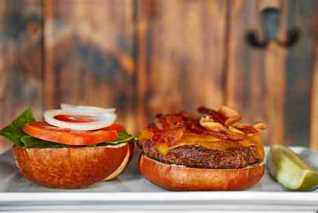 The West End Hotel - Gourmet Burger or Hot Dog with Chips for Two - Save 0%