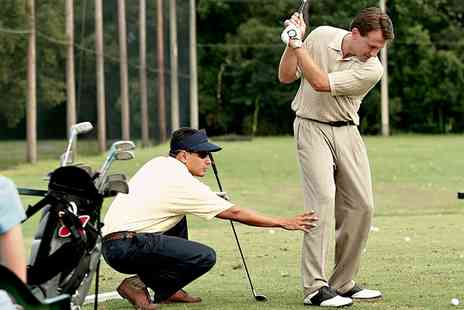 Cannon Golf - One or Two Hour Golf Lesson with Video Analysis - Save 76%