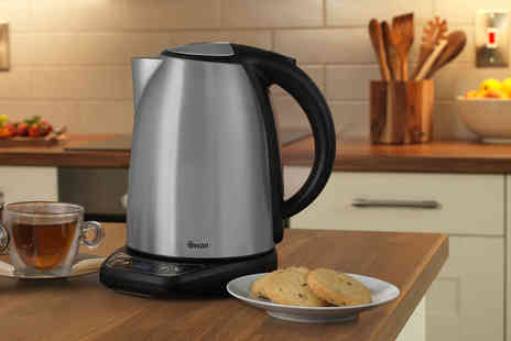 Swan Products - 1.8l temperature controlled kettle - Save 50%