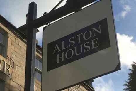 Alston House Hotel - One or Two Nights Stay For Two With Breakfast and Dinner - Save 32%