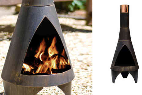 Gadgets & Products - £69 instead of £129.99 for steel chimenea in a choice of colours - Save 47%