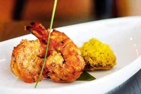 29 States - Two Course Indian Meal for 2 with Sides & Wine - Save 49%