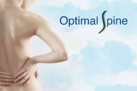 Optimal Spine - Three Physiotherapy Sessions &  a Posture/Health Class - Save 74%