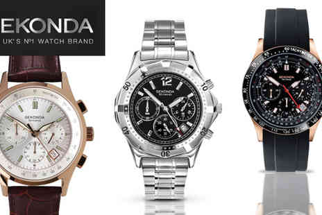 Sekonda - £49 for a choice of men's Sekonda watches worth up to £89.99 - Save 46%