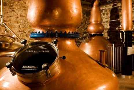 The Lakes Distillery Company - Lake District Distillery Tour for 2 including Tastings - Save 50%