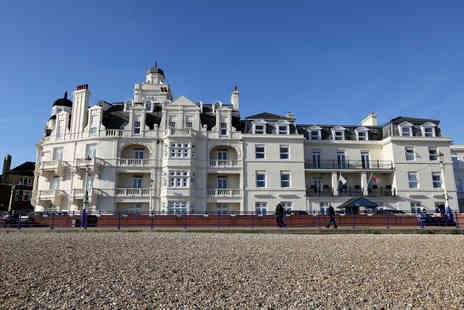 Shore View Hotel - One or Two Night stay in Eastbourne for two with breakfast - Save 48%