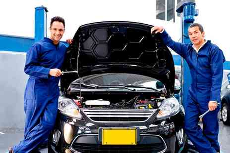Waterfront Cars - Car Service With Oil and Filter Change, Mini Valet and MOT - Save 70%