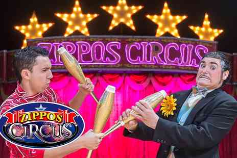 Zippos Circus - Circus Zippos Front View Ticket, South Park, 22 To 26 April - Save 50%