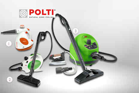 Polti - Vaporetto Diffusion steam cleaner, Vaporetto Pocket 2.0 or Vaporetto Evolution Kit - Save 44%