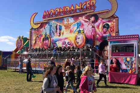 Jamie Clark Events - Entry to Consett Funfair with Ride Tokens and Candy Floss, Hownsgill Industrial Estate, 14 To 23 April  - Save 67%