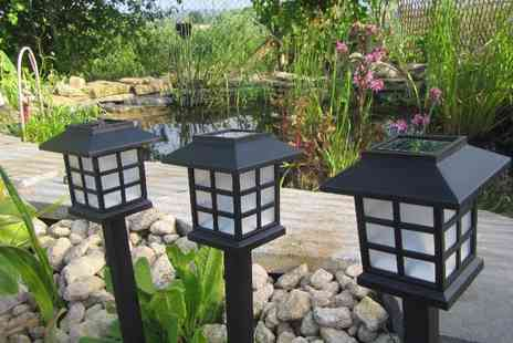 Gift Mountain - Set of three solar garden lanterns - Save 50%
