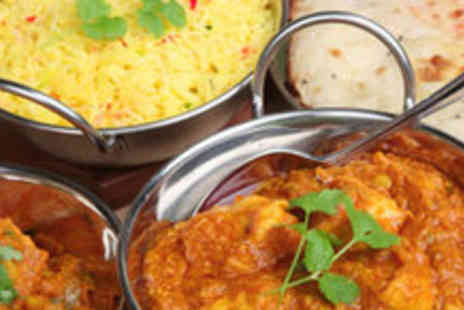 Ruba Spice - An Indian Meal for 2 including 2 Starters and 2 Main Courses with Rice - Save 53%