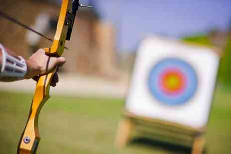 Lea Marston Events - Archery experience with 30 arrows to share for up to two  - Save 0%