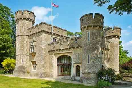 Bath Lodge Castle - One Night Stay For Two With Breakfast and Wine Or 2 Nights Plus Afternoon Tea  - Save 0%