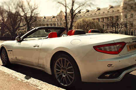 Maserati  -  Extended Maserati Drive through London for Two - Save 40%